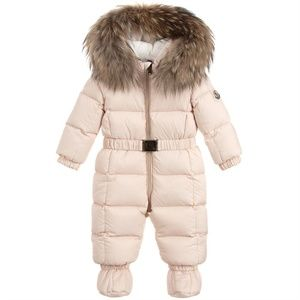 bf789d4ca Moncler NEW JEAN Down Baby Snowsuit 3/6 MONTHS NWT